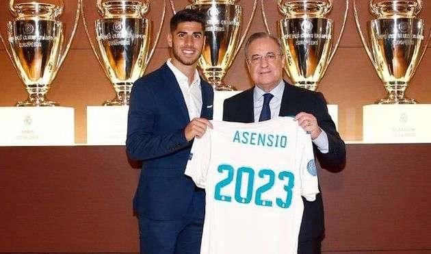 Официально: Асенсио продлил контракт с Реалом
