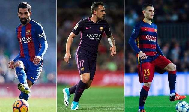 Барселона намерена продать Турана, Вермалена и Алькасера