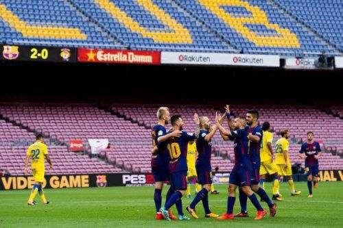 «Барселона» продолжит играть в чемпионате Испании