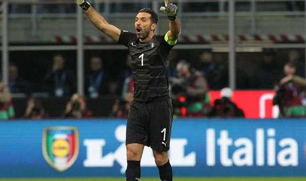 Буффон объявил о завершении карьеры в сборной Италии