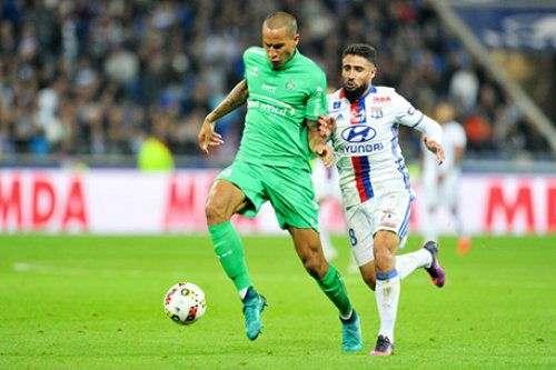 Защитник «Сент-Этьена» дисквалифицирован на 4 матча