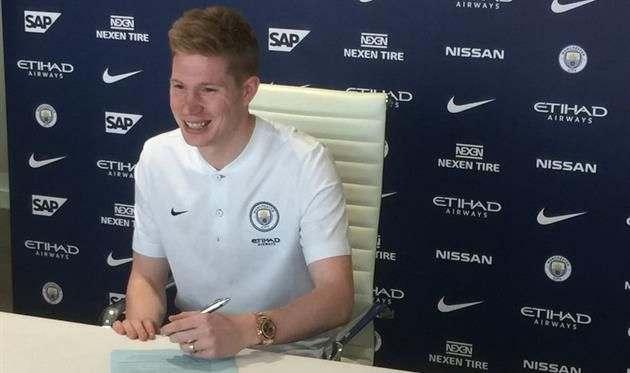 Де Брюйне продлил контракт с Манчестер Сити