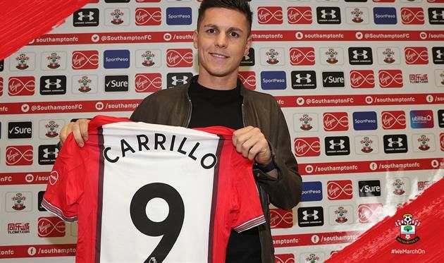 Официально: Каррильо — игрок Саутгемптона