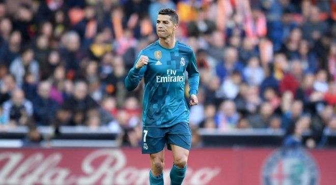 Роналду забил 100-й мяч с пенальти в карьере