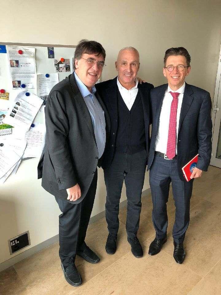 Aлександр Ярославский обсудил с руководством УЕФА перспективы сотрудничества по проектам в Харькове