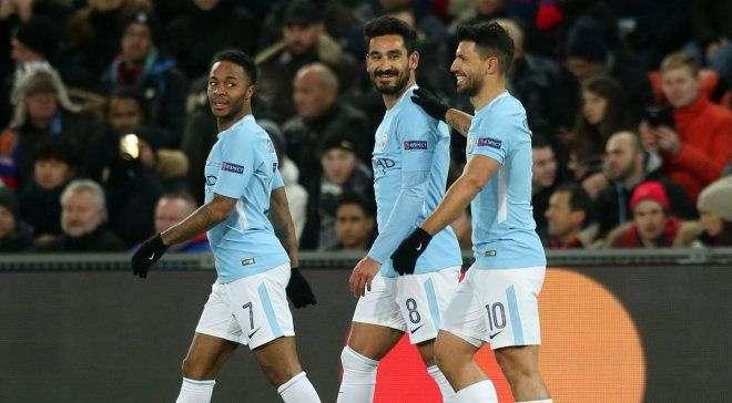 Манчестер Сити установил рекорд Лиги чемпионов, забив Базелю 3 гола к 23-й минуте