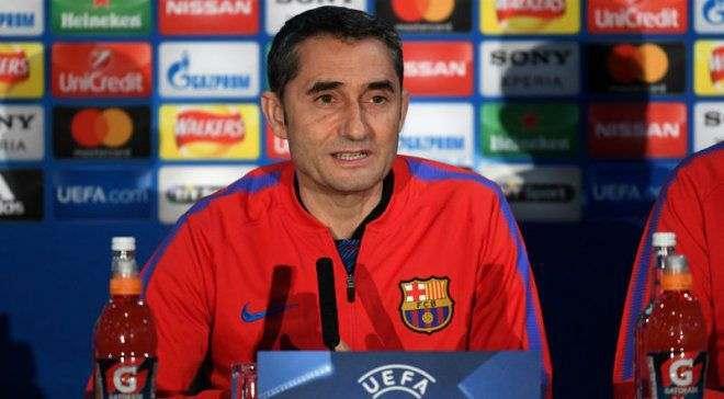 Вальверде: Матч с Челси станет для Барселоны большим испытанием