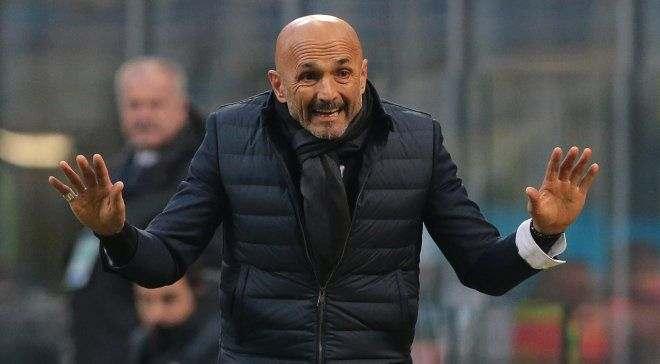 Спаллетти будет уволен, если Интер не попадет в Лигу чемпионов