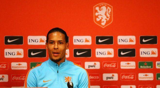 Ван Дейк стал капитаном сборной Нидерландов