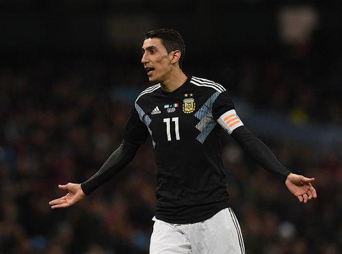Ди Мария получил травму и не сыграет против Испании