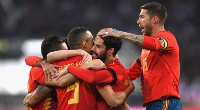 Каждый игрок сборной Испании может получить 125 тысяч евро за победу на ЧМ-2018