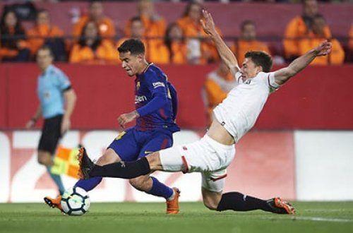 Защитник «Севильи» переходит в «Барселону»