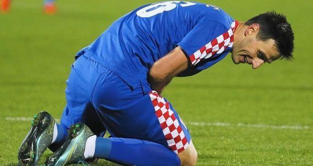 Тренерский штаб сборной Хорватии решил отправить нападающего Николу Калинича домой.
