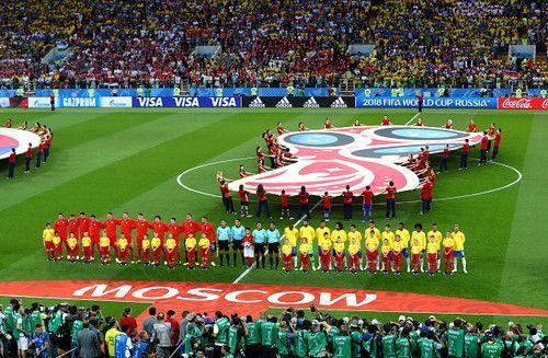 Сербия — Бразилия — 0:2.