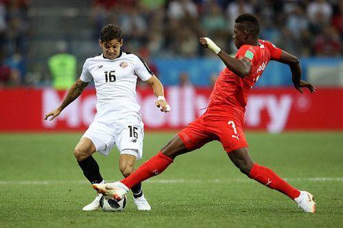 Швейцария — Коста-Рика — 2:2.