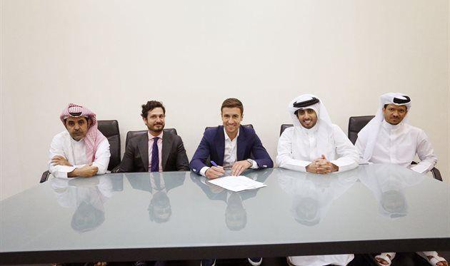 Габи подписал двухлетний контракт с Аль-Саддом и стал одноклубником Хави