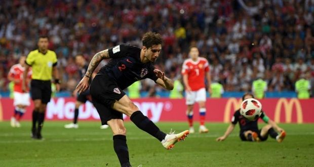 Врсалько пропустит полуфинал ЧМ-2018 против Англии