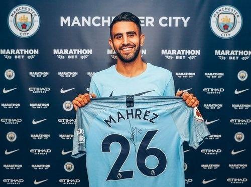 ОФИЦИАЛЬНО: Рияд Марез — игрок Манчестер Сити