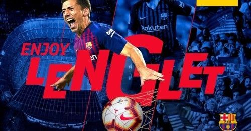 Барселона подписала защитника Ленгле