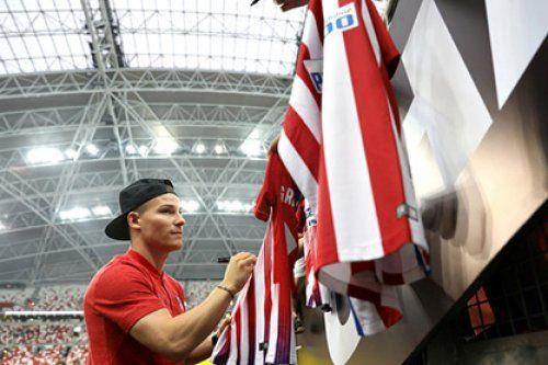 «Валенсия» подпишет форварда «Атлетико»