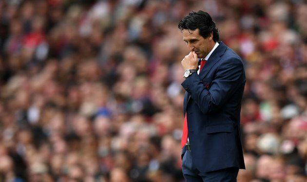 Эмери: Первый тайм Арсенал играл не так, как хотел