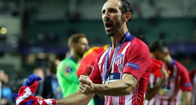Годин стал вторым самым титулованным футболистом в истории Атлетико