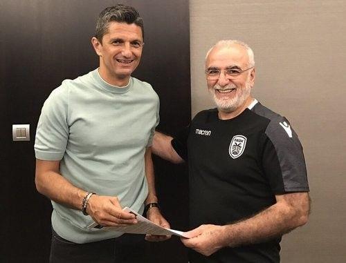 Луческу продлил контракт с ПАОКом