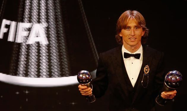 Модрич — о награде ФИФА: Все мечты сбываются