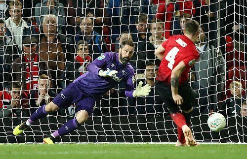 Дерби Каунти выбил Манчестер Юнайтед из Кубка английской лиги