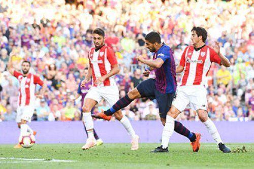 Бомбардир «Барселоны» угодил в лазарет
