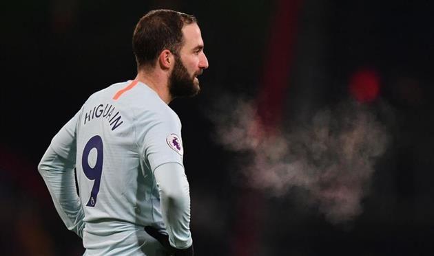 Игуаин покинет Челси по завершении сезона — СМИ