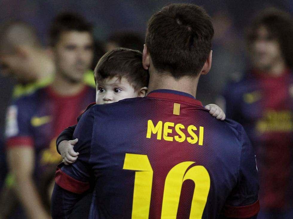 фото месси с сыном