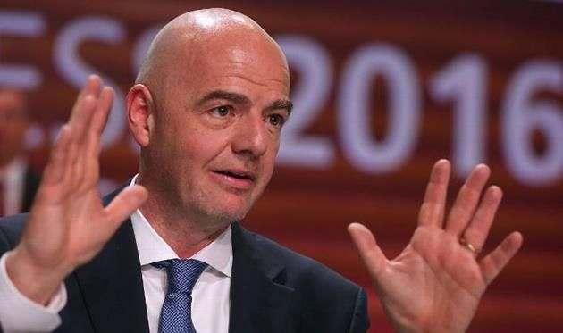 Инфантино будет получать 1,52 млн долларов в год