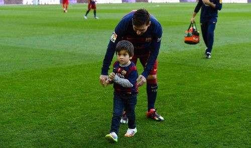 Сын Месси будет выступать за Барселону