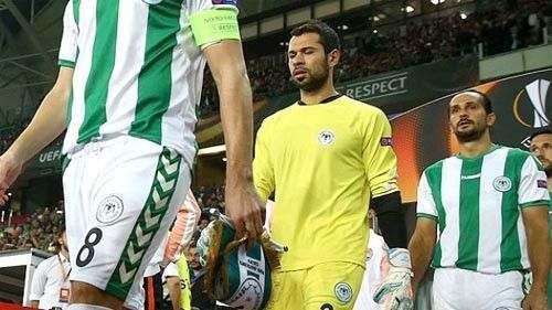 Вратарь Коньяспора - лучший игрок недели в Лиге Европы