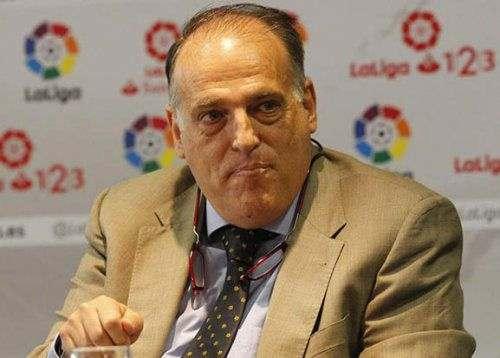 Президент испанской лиги ушел в отставку