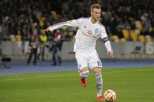 Ярмоленко дисквалифицирован на три матча