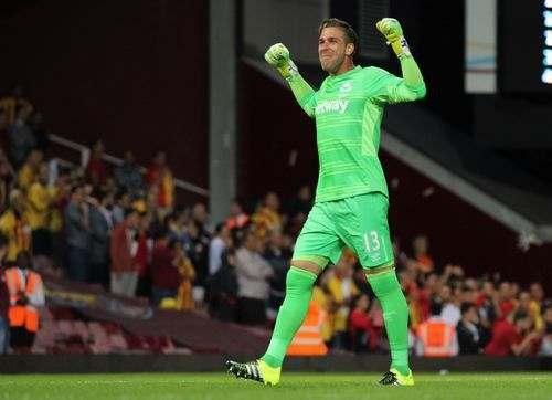 Вест Хэм теряет вратаря до конца сезона