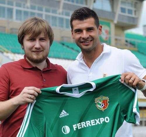 Бартулович продлил контракт с Ворсклой