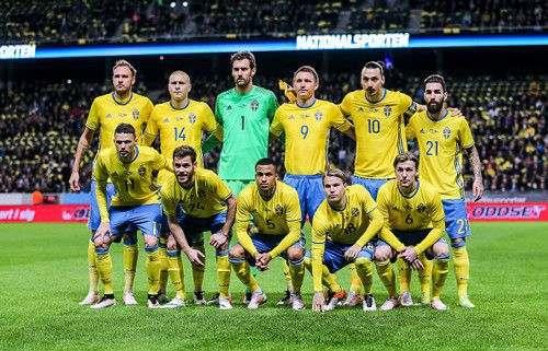 Итоговая заявка сборной Швеции на Евро