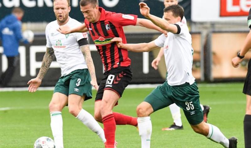Фрайбург - Вердер - 0:1: лучшие моменты матча