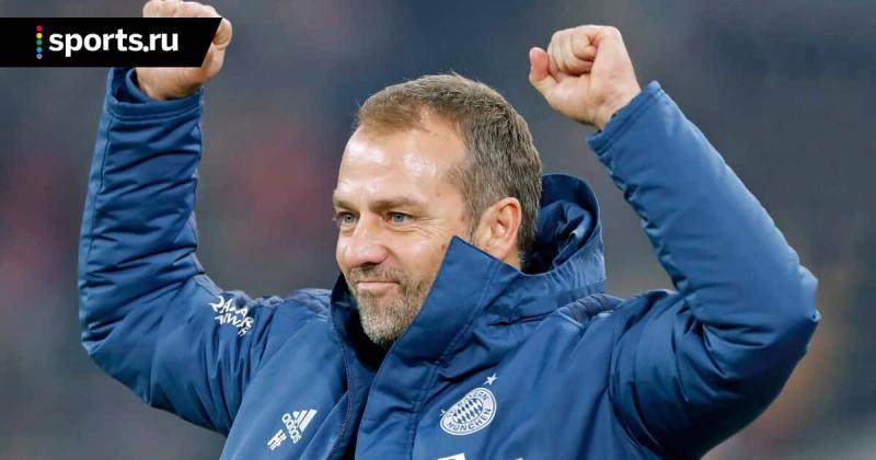 Флик выиграл 15 из 18 первых матчей в Бундеслиге во главе Баварии  повторив рекорд Гвардиолы