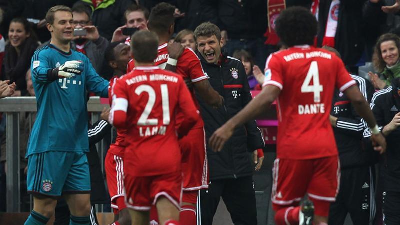 Три клуба устанавливают рекорд Бундеслиги