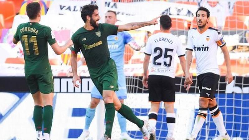 Мимо еврокубки? Валенсия потерпела неожиданное поражение от Атлетико