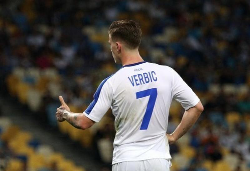 Дубль Вербича едва не принес Динамо победу в Александрии