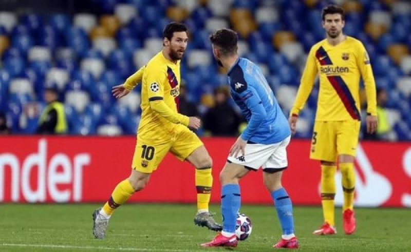 Барселона – Наполи. Текстовая трансляция матча