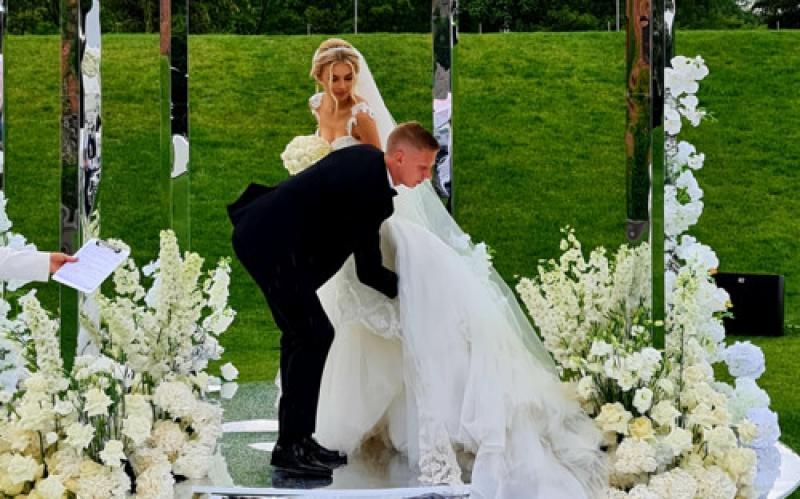 Шикарная свадьба Зинченко и Влады Седан: в сети появились первые фото