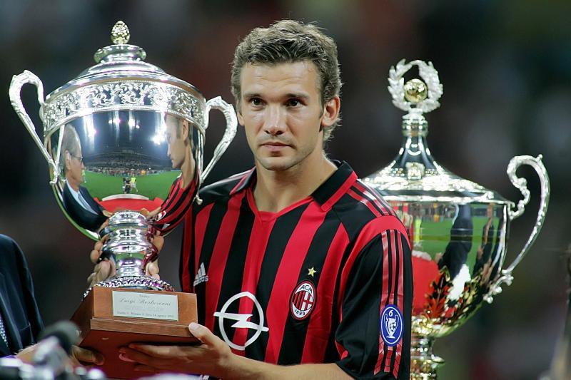Андрей Шевченко попал в сотню лучших футболистов за четверть века