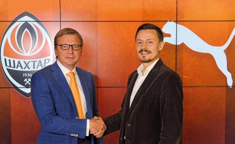 Шахтер подписал контракт на 5 лет с глобальным спортивным брендом