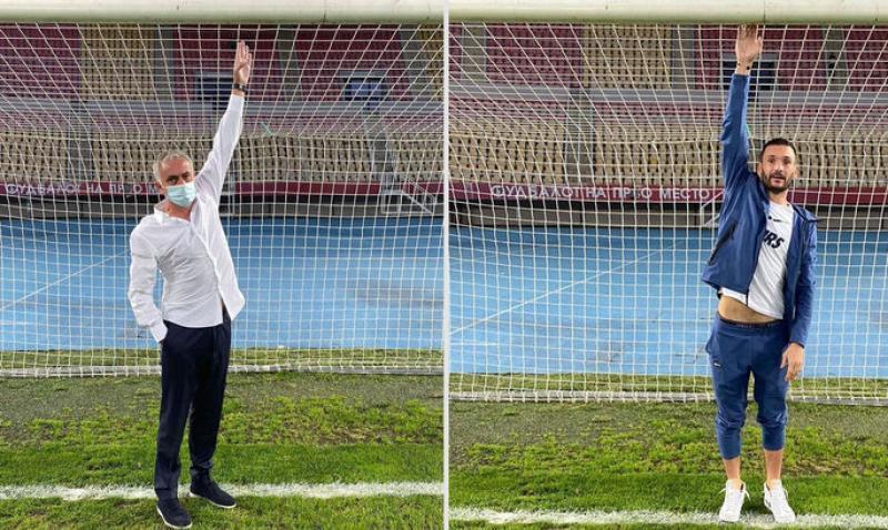 Моуринью попросил заменить ворота перед матчем Лиги Европы